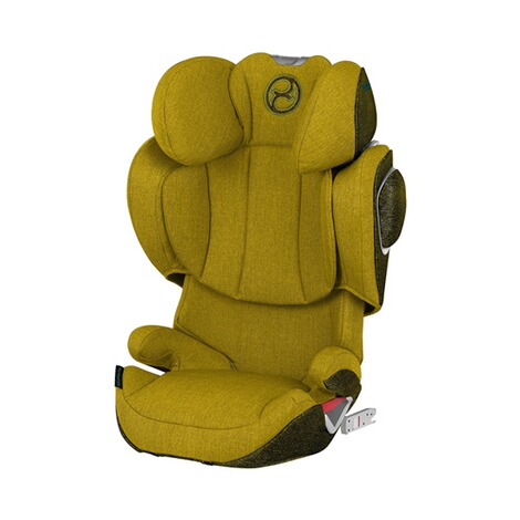 Cybex PLATINUM Solution Z-Fix Plus Kindersitz  Mustard Yellow 1