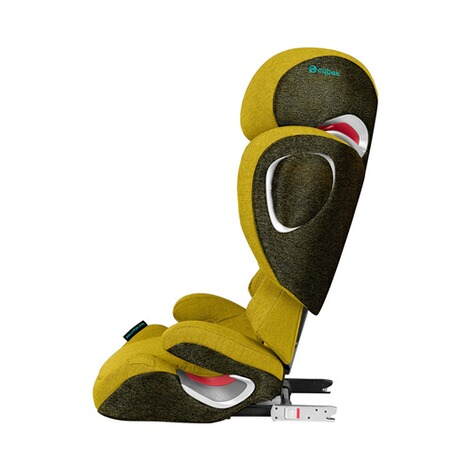 Cybex PLATINUM Solution Z-Fix Plus Kindersitz  Mustard Yellow 2
