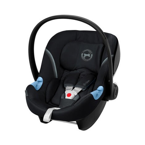 Cybex GOLD Aton M Babyschale  Deep Black 1