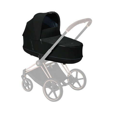 Cybex PLATINUM Tragewanne Priam Lux  Deep Black 6