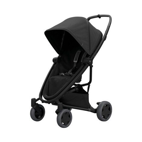 QuinnyPremiumZapp Flex plus Buggy mit Liegefunktion  black on black 1