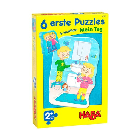 Haba6 erste Puzzles - Mein Tag 1
