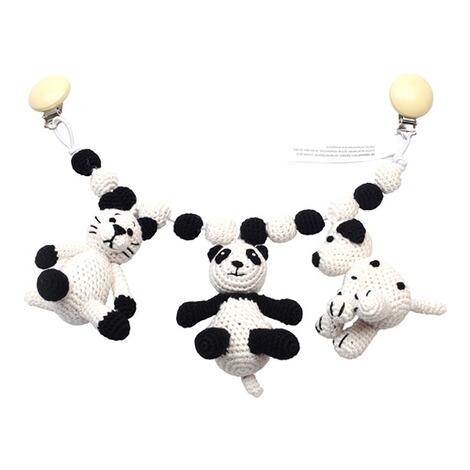naturezoo of denmark kinderwagenkette katze panda hund. Black Bedroom Furniture Sets. Home Design Ideas