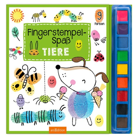 arsEditionMalbuch Fingerstempel-Spaß Tiere 1