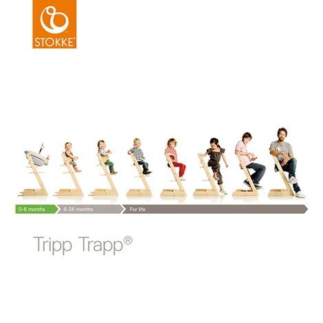 Stokke® TRIPP TRAPP® Treppenhochstuhl Limited Edition Esche online ...
