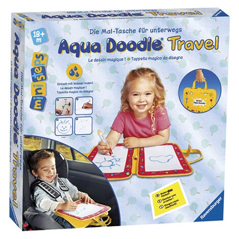 RAVENSBURGER MINISTEPS Aqua Doodle® Wassermal-Set Travel 1