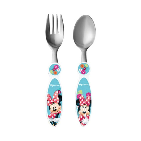 MINNIE MOUSE 2tlg. Besteck-Set 1