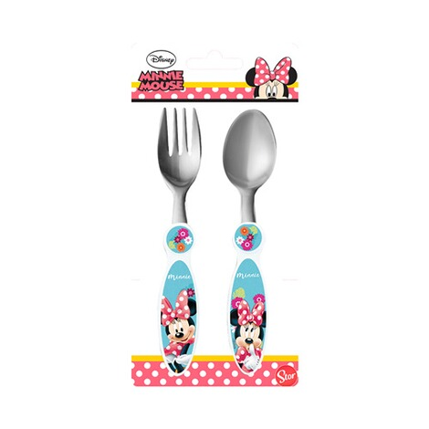 MINNIE MOUSE 2tlg. Besteck-Set 2