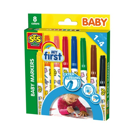 SES  Baby Marker 8 Farben 1