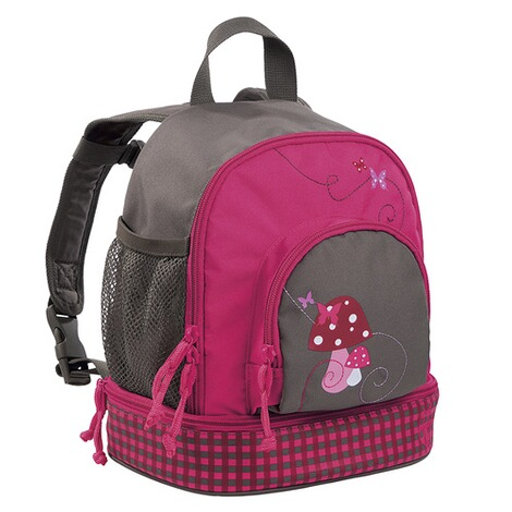 Lässig 4KIDS Kindergartenrucksack Mini Backpack Mushroom magenta 2