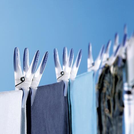 Wäscheklammern 'Softi', 24 Stück