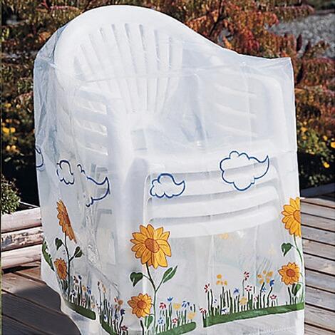 tri abdeckhaube f r 4 gartenst hle online kaufen die moderne hausfrau. Black Bedroom Furniture Sets. Home Design Ideas