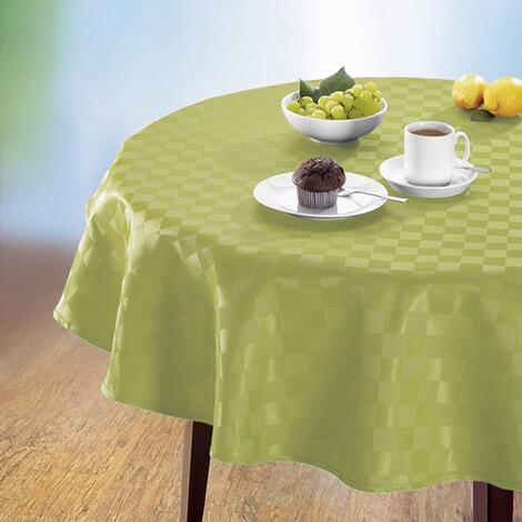 jacquard tischdecke spezial kiwi online kaufen die. Black Bedroom Furniture Sets. Home Design Ideas
