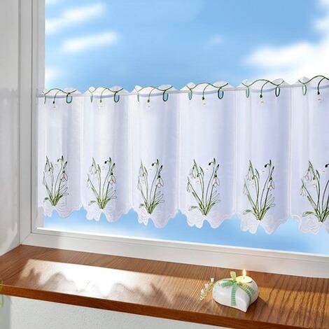 vivadomo bistrogardine schneegl ckchen online kaufen. Black Bedroom Furniture Sets. Home Design Ideas