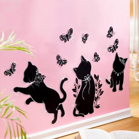 deko sticker k tzchen 10 teile online kaufen die moderne hausfrau. Black Bedroom Furniture Sets. Home Design Ideas