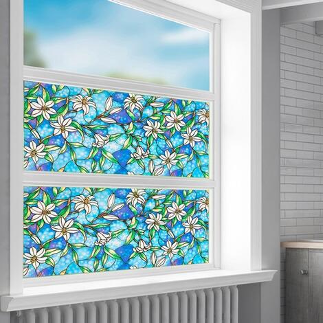 sichtschutzfolie fleur online kaufen die moderne hausfrau. Black Bedroom Furniture Sets. Home Design Ideas