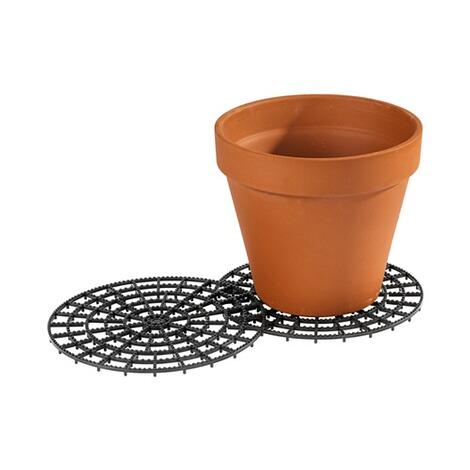 Supports pour pots de fleurs 2 pi ces commander en - Support pour plantes exterieur ...