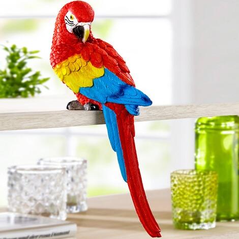 deko papagei anton online kaufen die moderne hausfrau. Black Bedroom Furniture Sets. Home Design Ideas