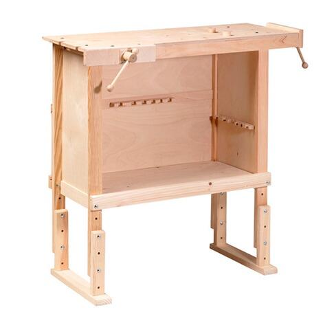 Pebaro Werkbank Mit 2 Einspannhalterungen Aus Holz Online Kaufen