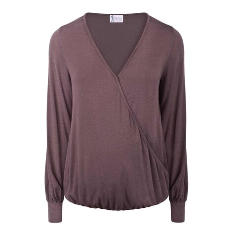 PAULINA  Stillshirt Female Agents  smoky plum 1