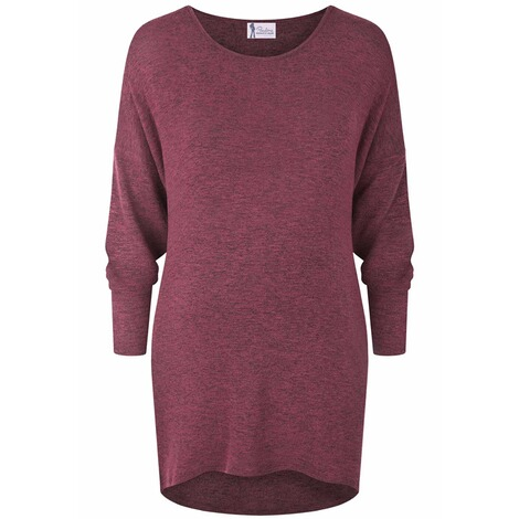 PAULINA  Umstandsstrickpullover Guess Who  dark red 1