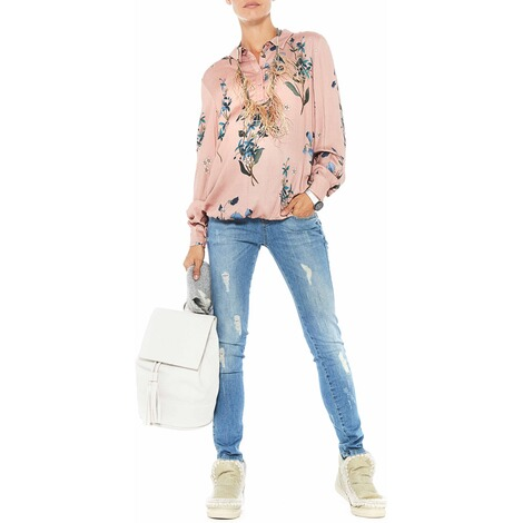PAULINA  Umstandsjeans Brooklyn Blues  bleached denim 2