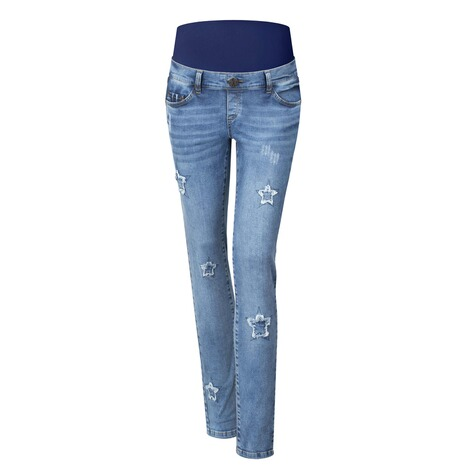 PAULINA  Umstandsjeans Rising Star  blue denim 1