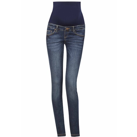 Paulina  Umstandsjeans All Or Nothing  used blue 1