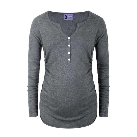 PAULINA  Stillpullover Coming Home  anthracite 1