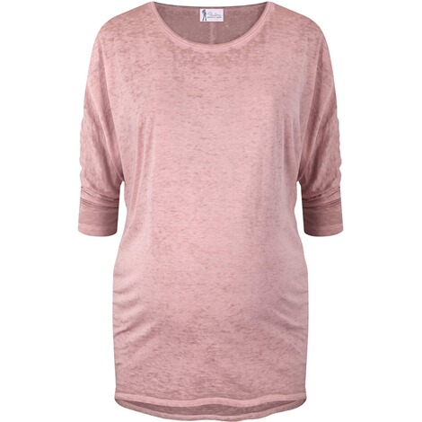 PAULINA  Umstandsshirt Living High  dusty rose 1