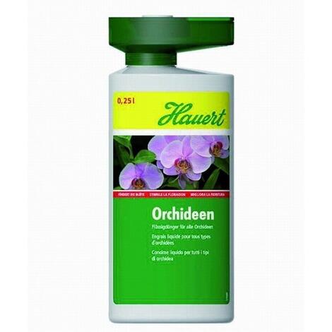 Hauert Orchideendünger, 0,25 l Flasche Flüssigdünger