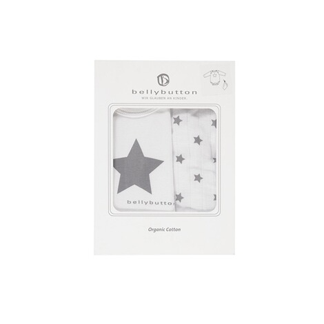 Bellybutton  Geschenkset: Body langarm + Stofftuch  bright white 3