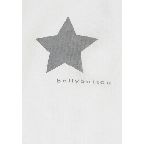 Bellybutton  Geschenkset: Body langarm + Stofftuch  bright white 4