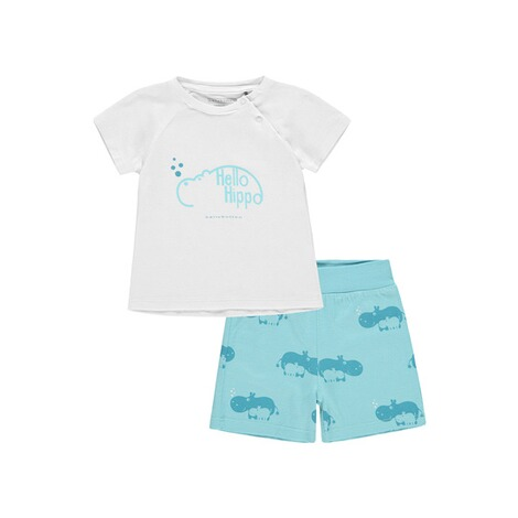 Bellybutton  Schlafanzug 2tlg. T-Shirt, Shorts  petit four 1