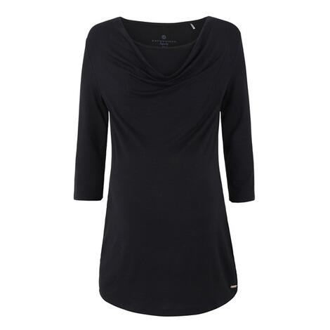 T Shirt 34 Ärmel mit Stillfunktion black onyx