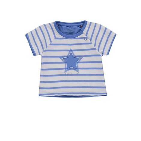 Bellybutton  T-Shirt gestreift mit Stern Little big Star  y/d stripe 1