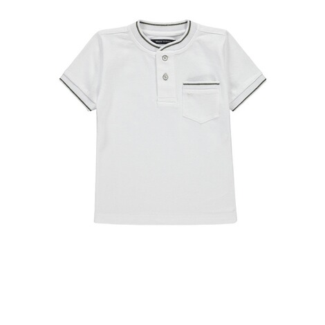 Marc O`Polo Junior  Piquee-Shirt  bright white 1