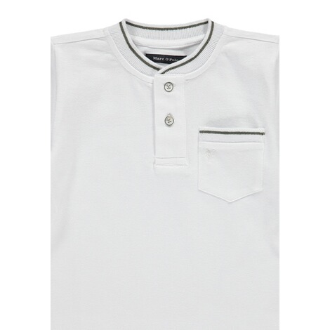Marc O`Polo Junior  Piquee-Shirt  bright white 3