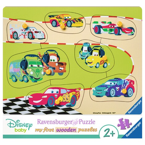 RAVENSBURGER  my first wooden puzzles Die Cars Familie 1