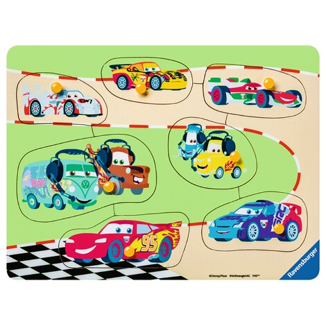 RAVENSBURGER  my first wooden puzzles Die Cars Familie 2