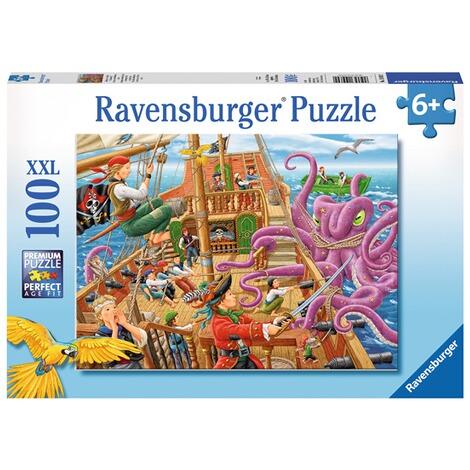 Ravensburger Kinderpuzzle Im Xxl Format Abenteuer Auf Dem