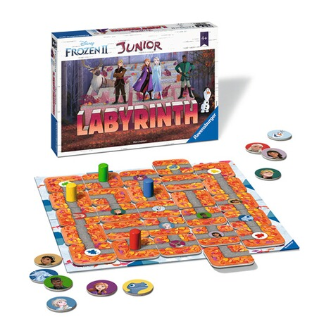 RavensburgerFrozen 2 Junior Labyrinth, Such-Schiebespiel 2