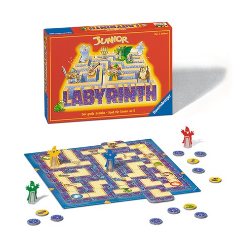 RavensburgerJunior Labyrinth, Such-Schiebespiel 3