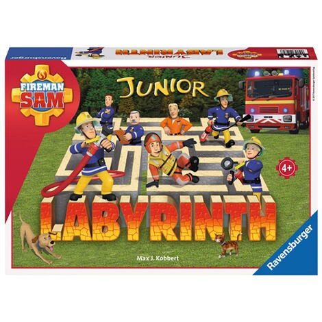 RAVENSBURGER  Fireman Sam Junior Labyrinth, Such-Schiebespiel 1