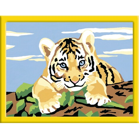 Ravensburger Malen Nach Zahlen Kleiner Tiger