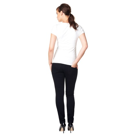 NOPPIES  Slim Umstandsjeans Leah  Black 7