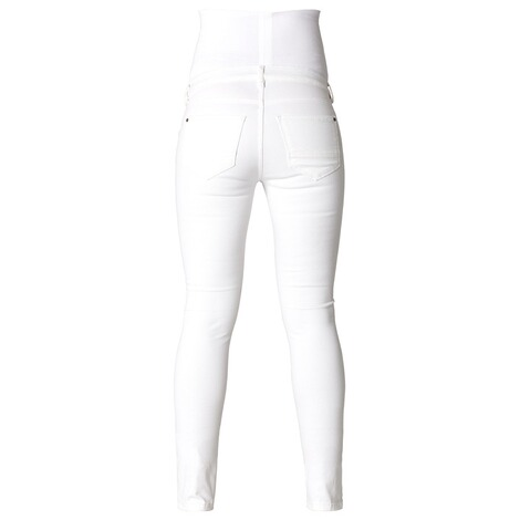 NOPPIES  Slim Umstandsjeans Leah  White 2