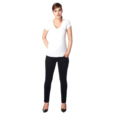 NOPPIES  Slim Umstandsjeans Leah  Black 6