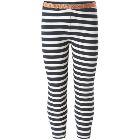 NOPPIES  Leggings Norrigde  Navy Stripe 1