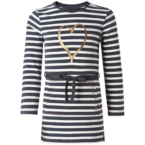 NOPPIES  Kleid Norwell  Navy Stripe 1